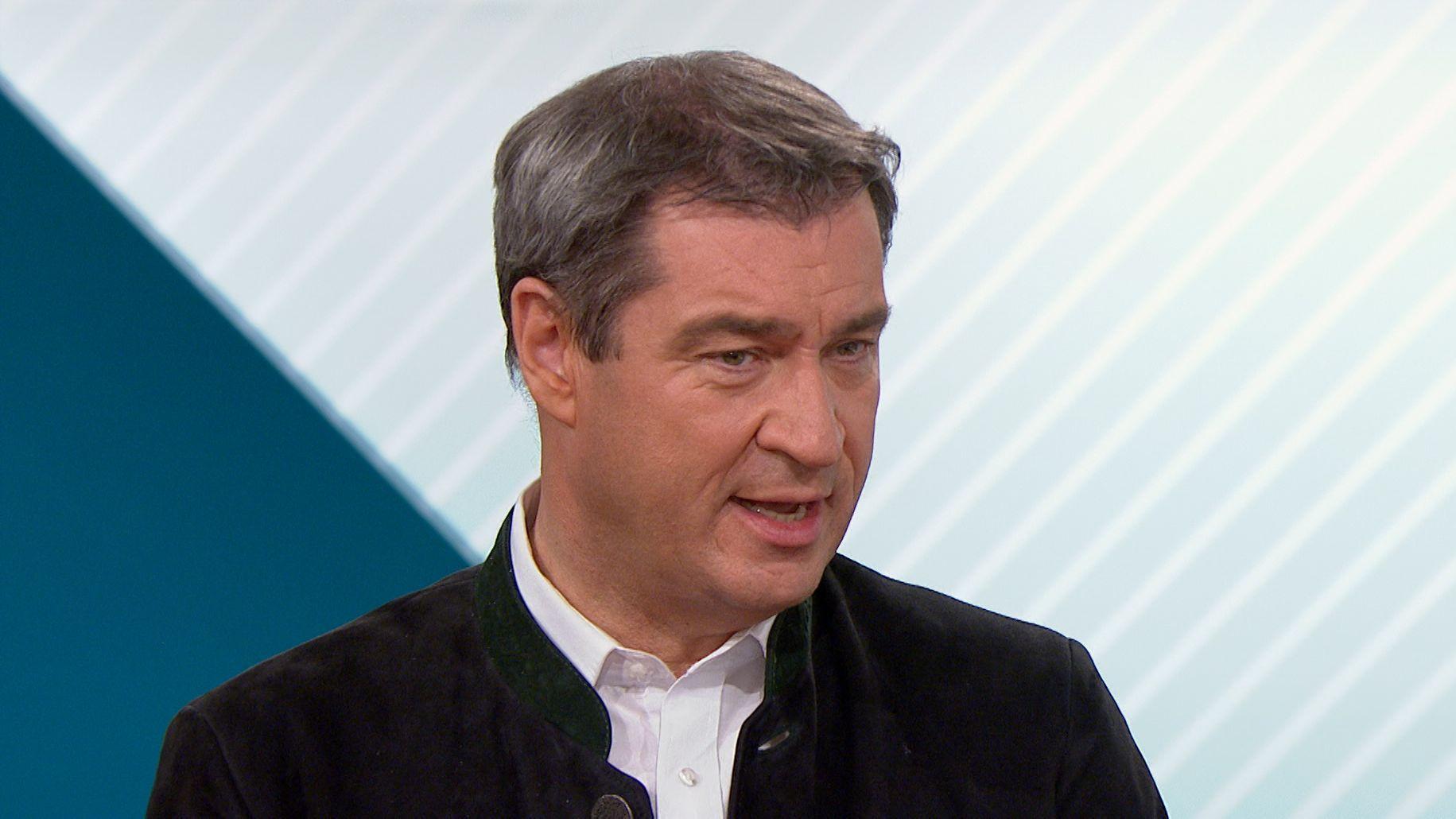 """Im BR-Politikmagazin """"Kontrovers"""" sprach Söder über CDU, Groko und Grundrente"""