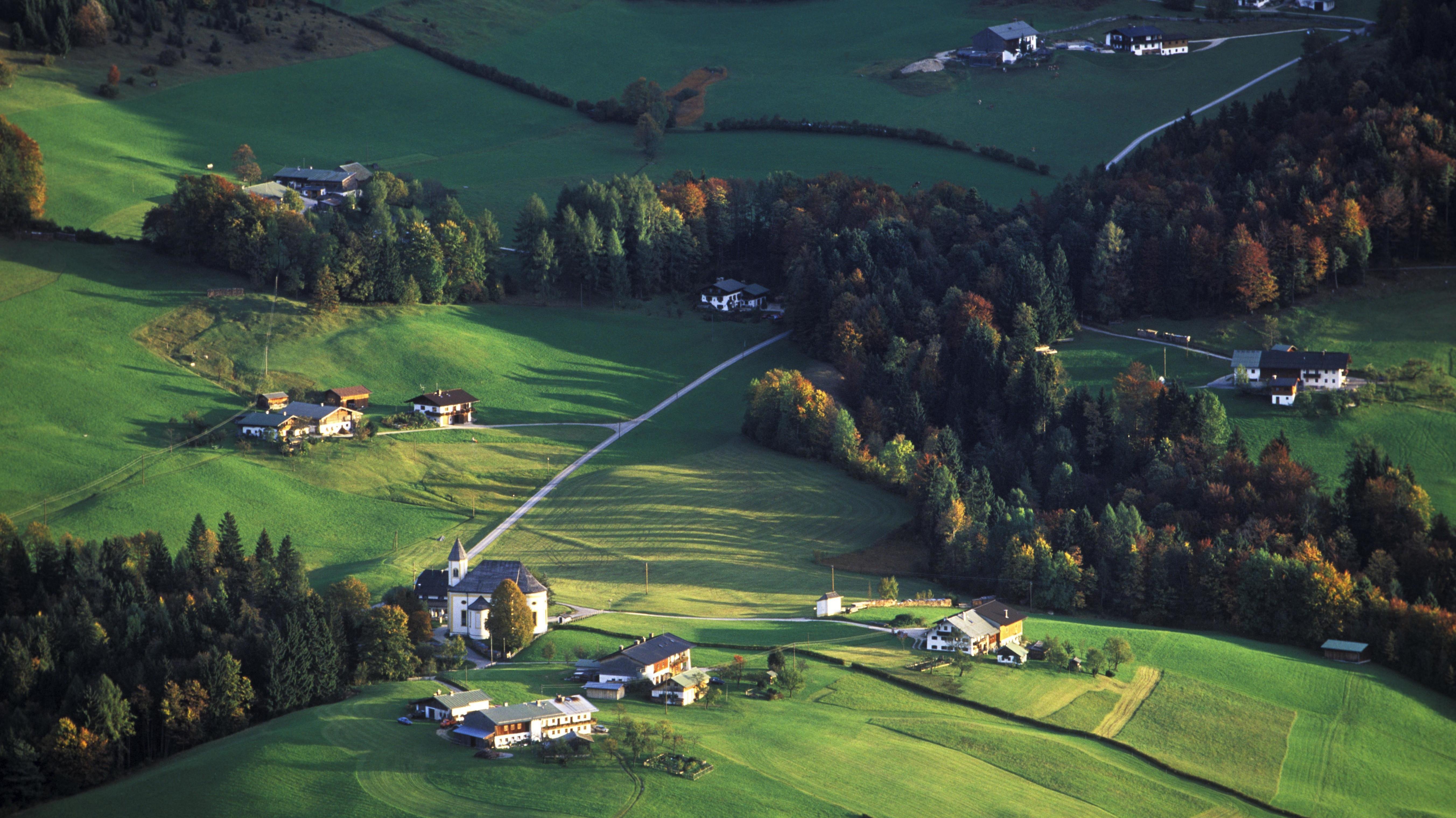 Ettenberg im Berchtesgadener Land, Blick von Kneifelspitze