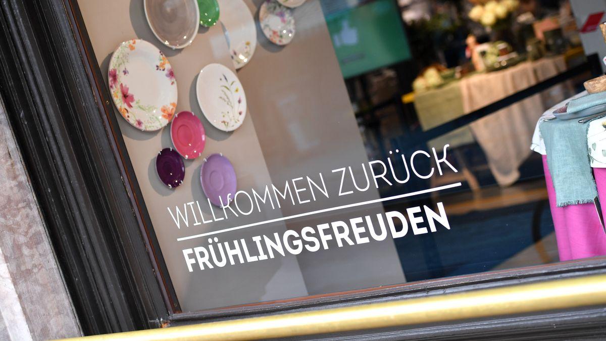 """In München gilt im Einzelhandel nun wieder """"Click & Meet"""" - Shoppen nach Terminvereinbarung"""