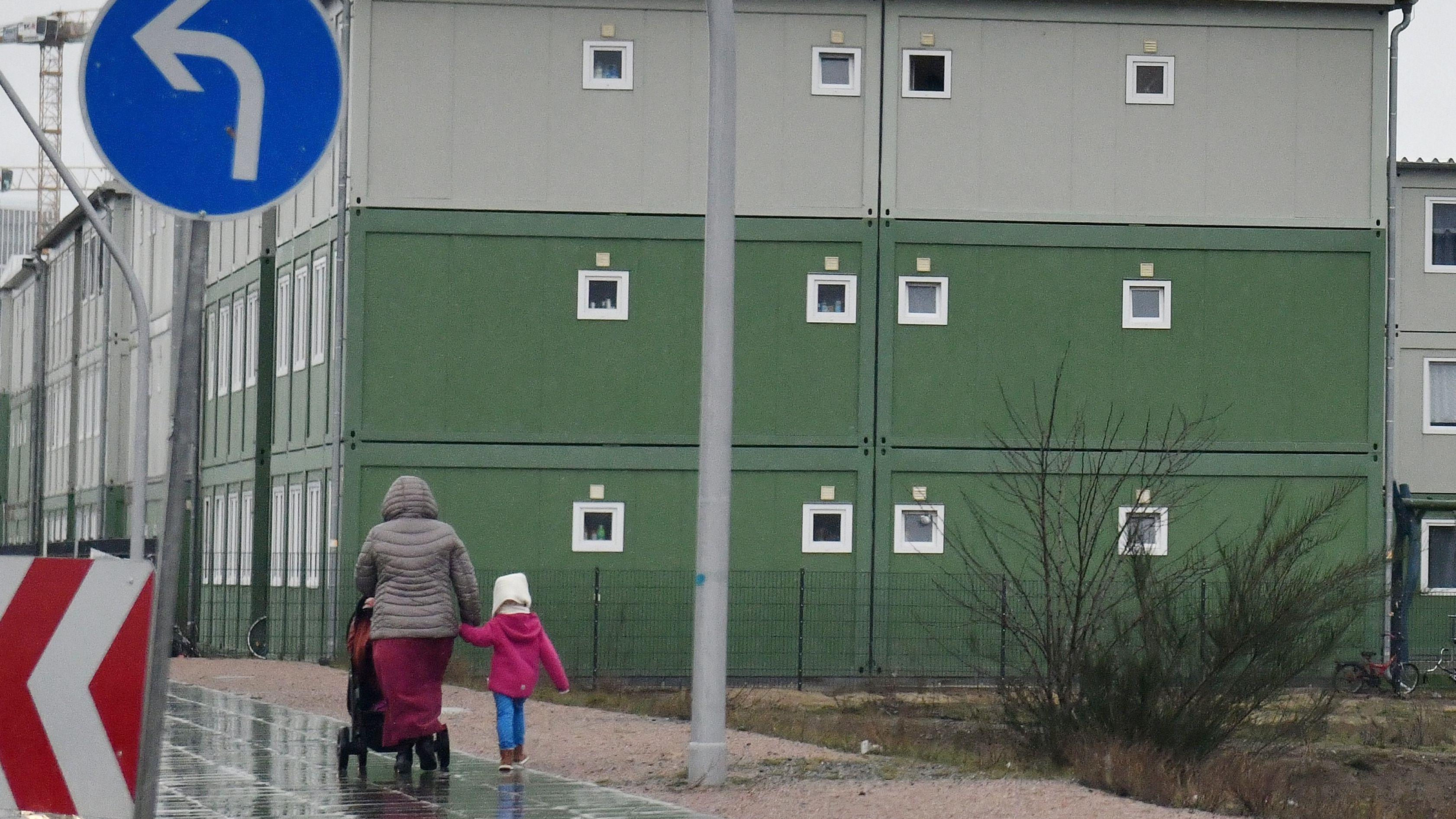 Symbolbild einer Flüchtlingsunterkunft