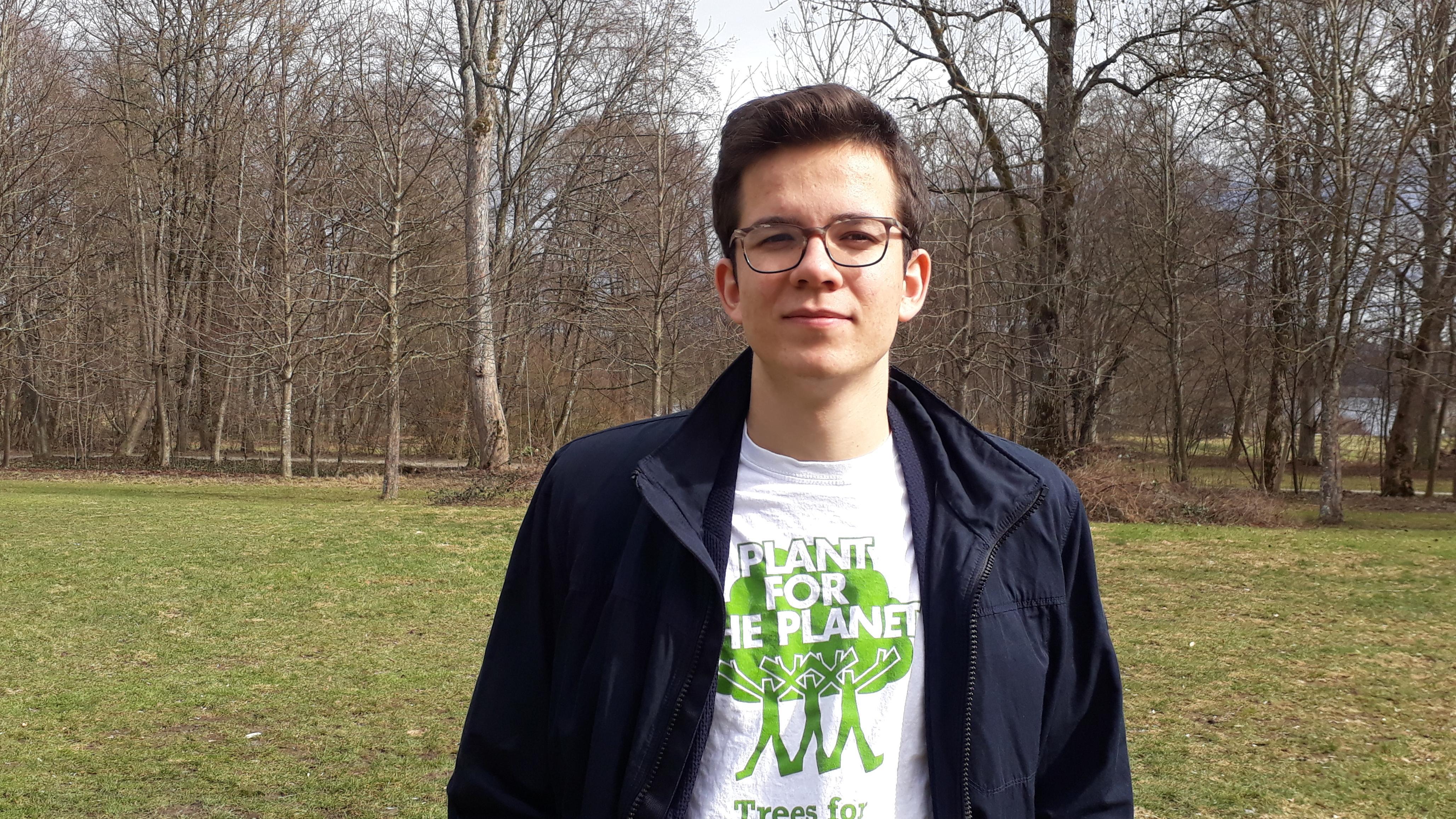 """Felix Finkbeiner hat """"Plant for the planet"""" vor 10 Jahren gegründet"""