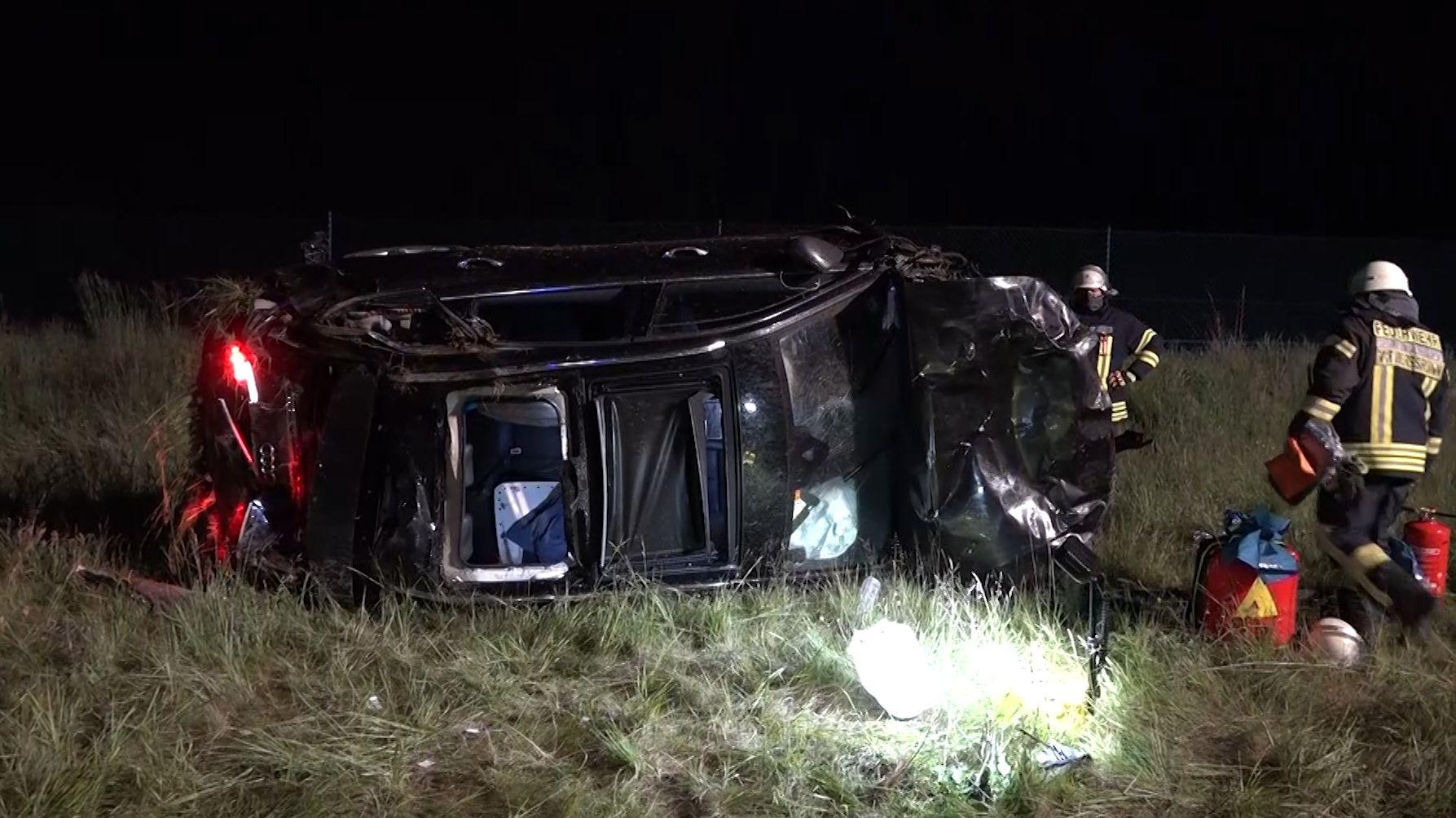Schwerer Unfall auf der A3 bei Waldaschaff