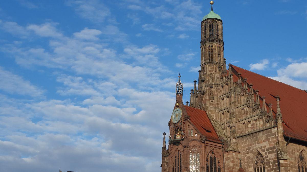 Nürnberger Frauenkirche am Hauptmarkt