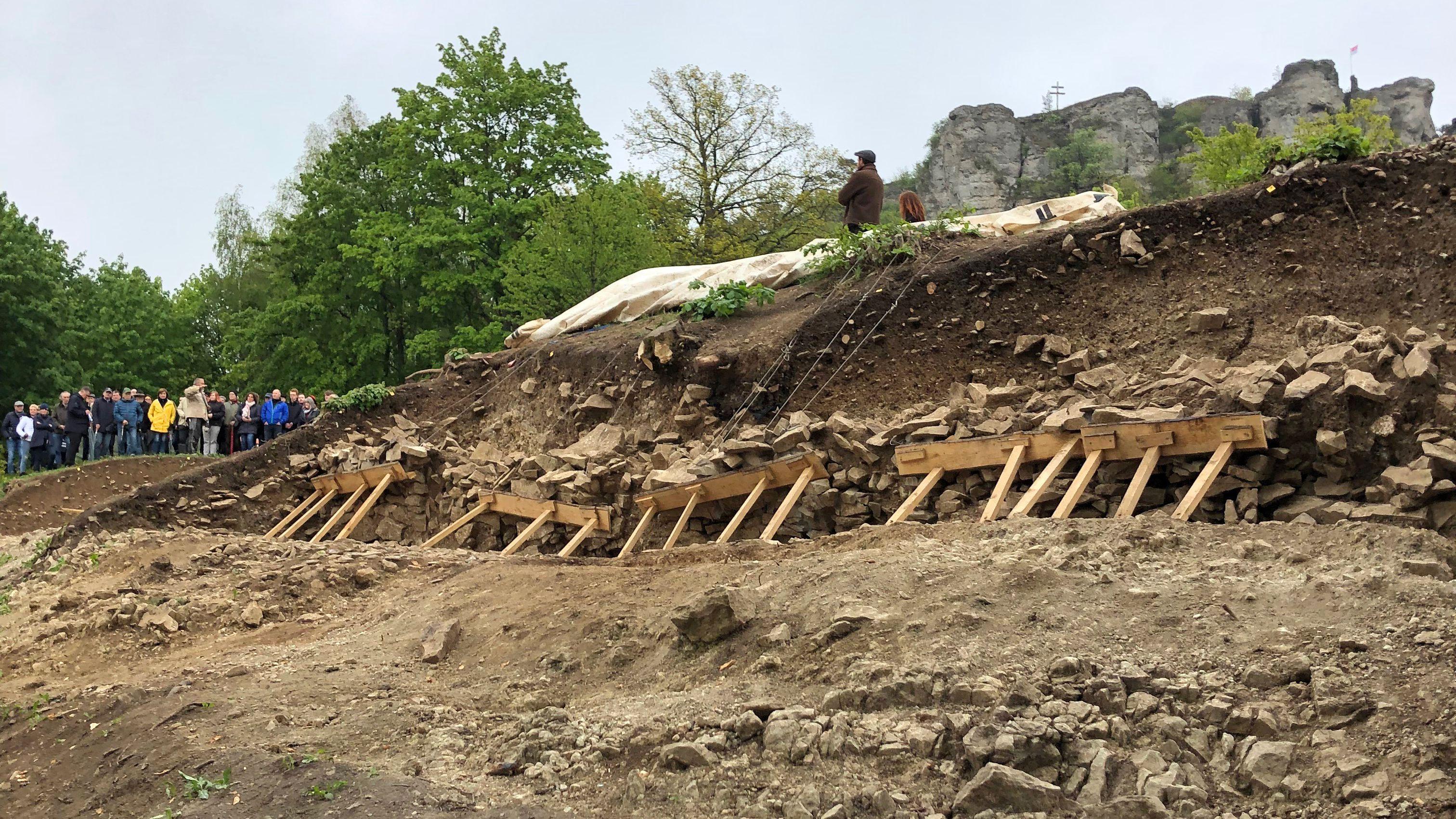 Ausgrabungen am Staffelberg