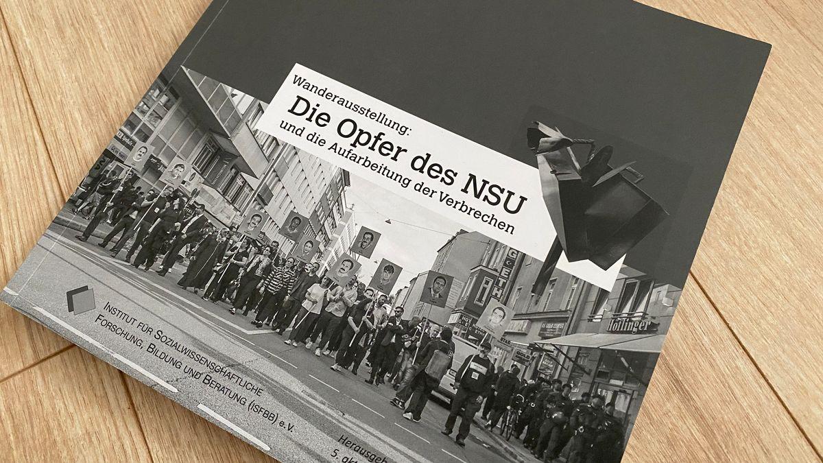 """Titel der Borschüre """"Die Opfer des NSU"""""""