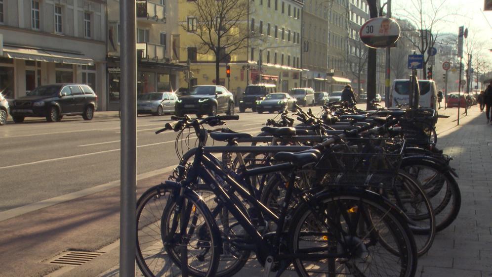 Mehr Radler in die Stadt - dafür macht sich das bayerische Innenministerium stark.  | Bild:BR