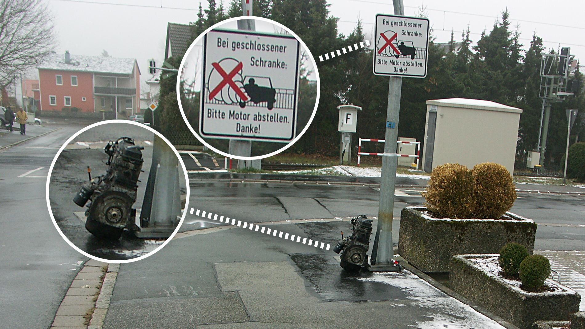 """Bitte Motor abstellen"""