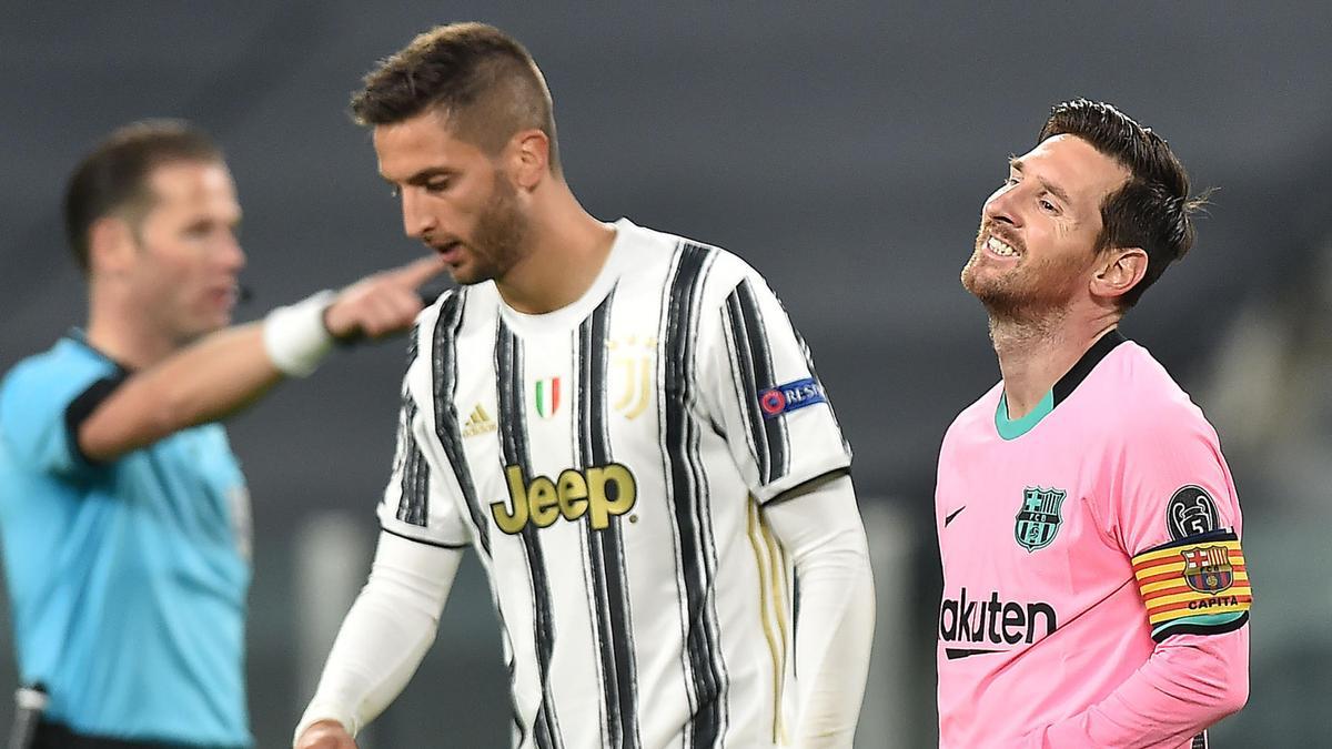 Rodrigo Bentancur  und Lionel Messi