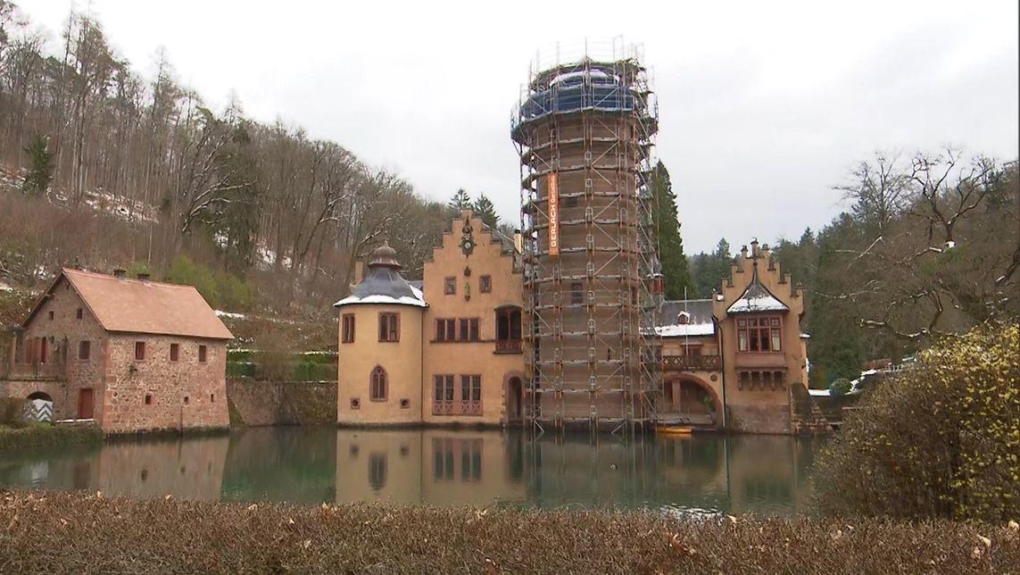 Das Wasserschloss Mespelbrunn