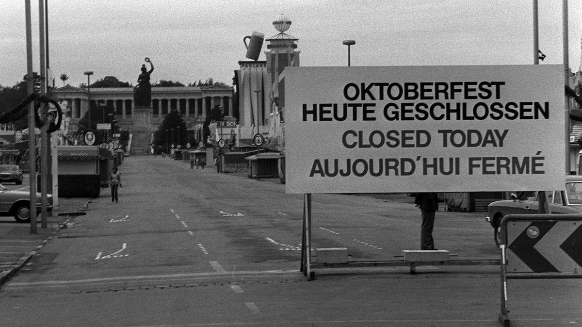 Oktoberfest während der Trauerfeierlichkeiten 1980 für 24 Stunden unterbrochen