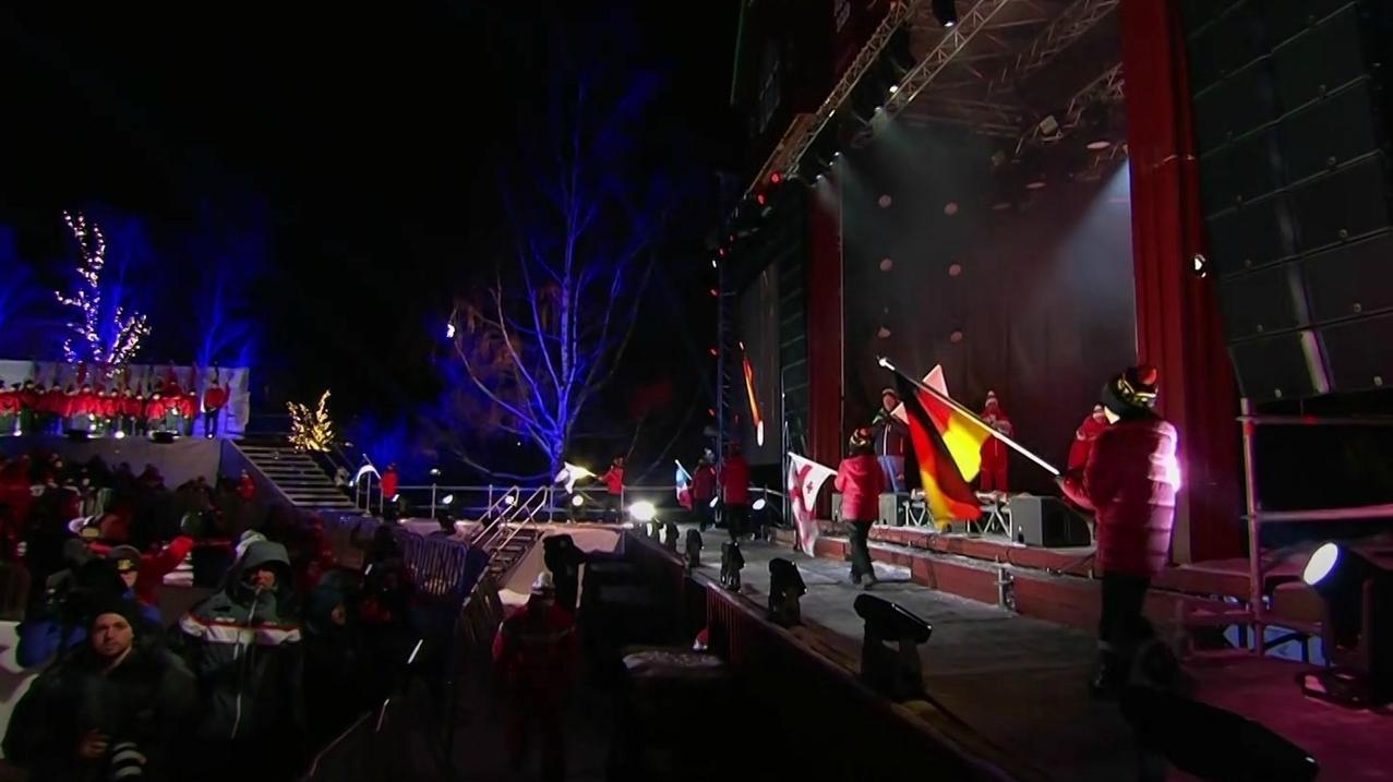 Eröffnungsfeier Alpine Ski-WM in Are