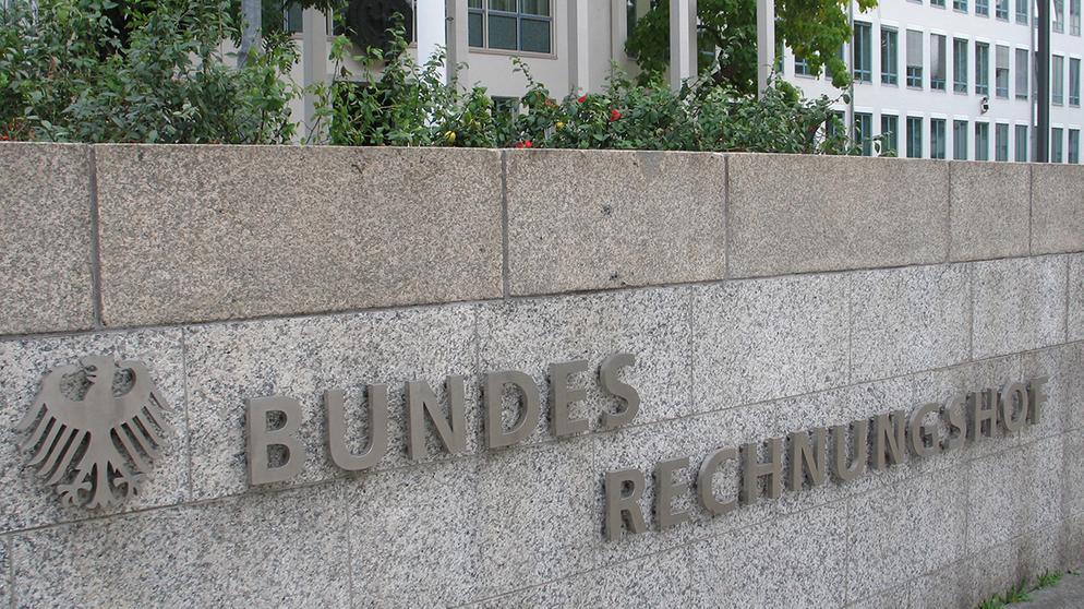 Der Bundesrechnungshof | Bild:picture-alliance/dpa