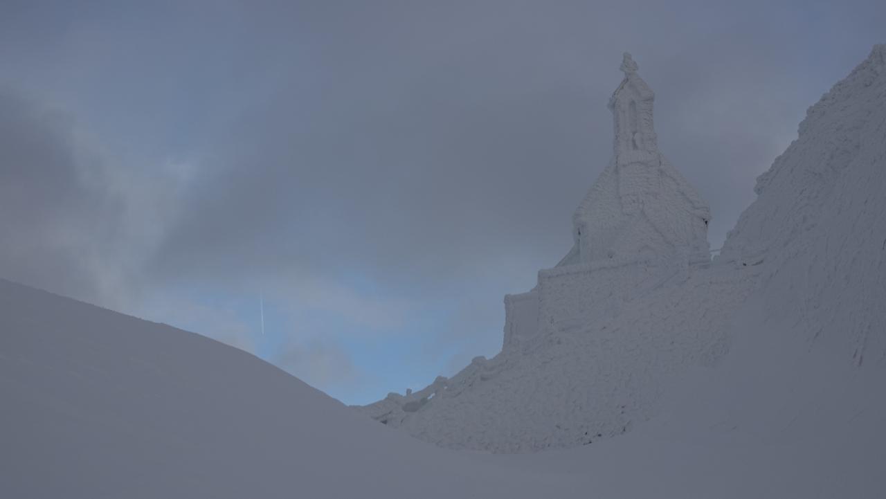 Winter am Wendelstein.