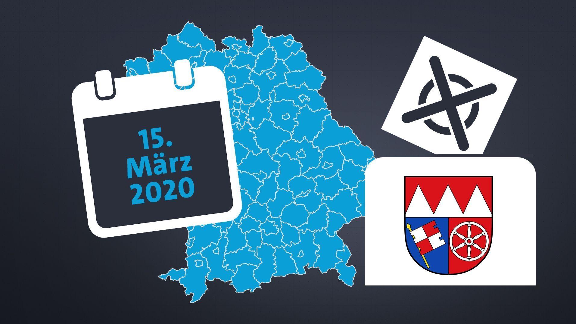 Kommunalwahl in Unterfranken
