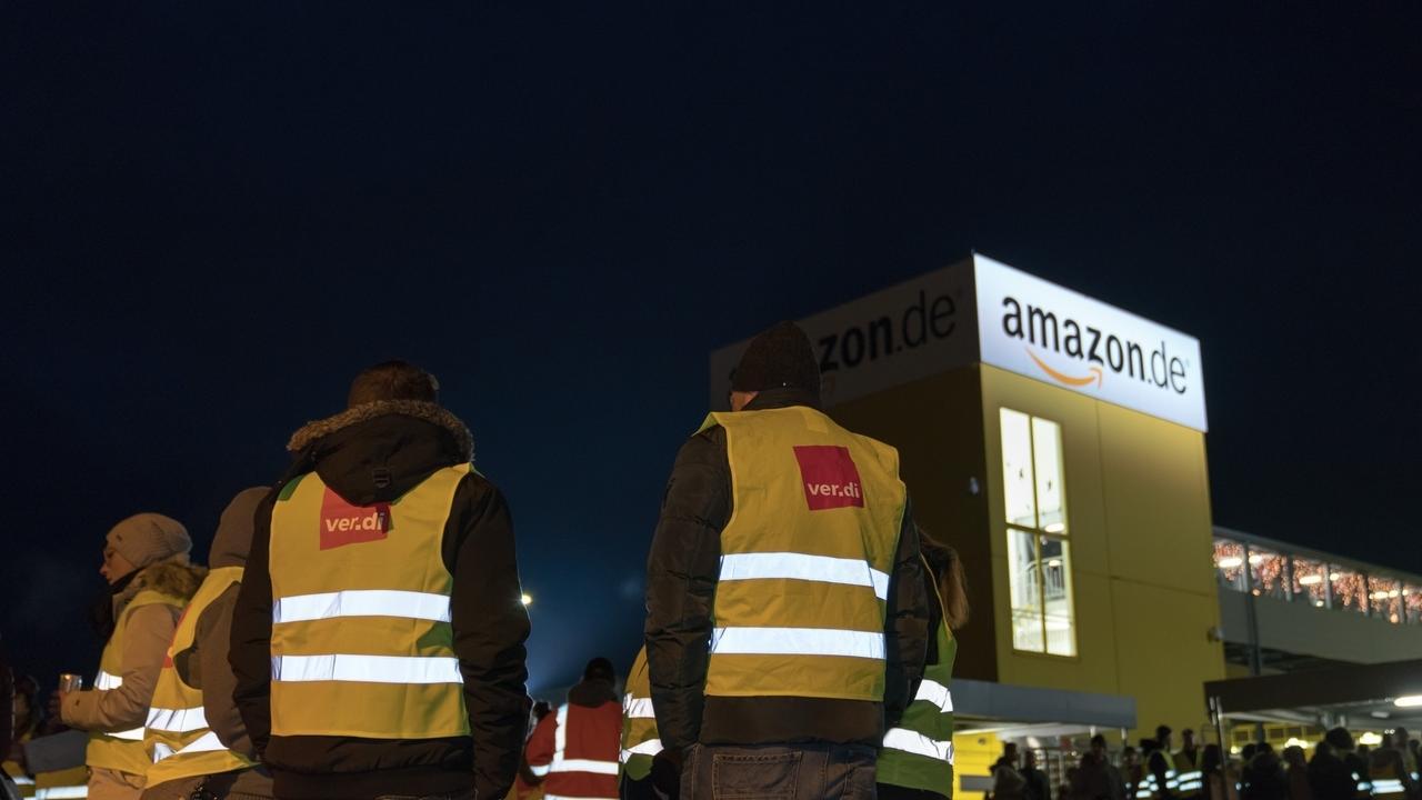 Nikolaus-Streik bei Amazon