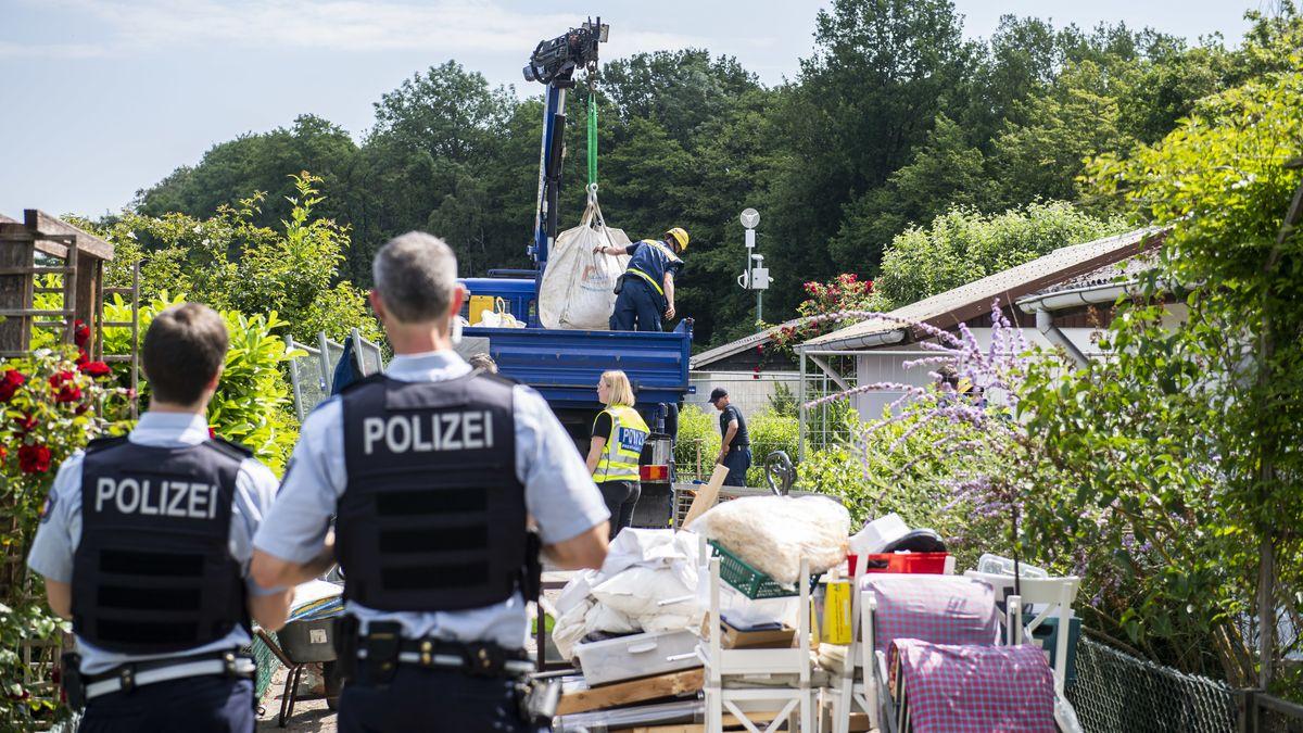 In einer Gartenlaube in Lüdge nahmen die Ermittlungen ihren Anfang.