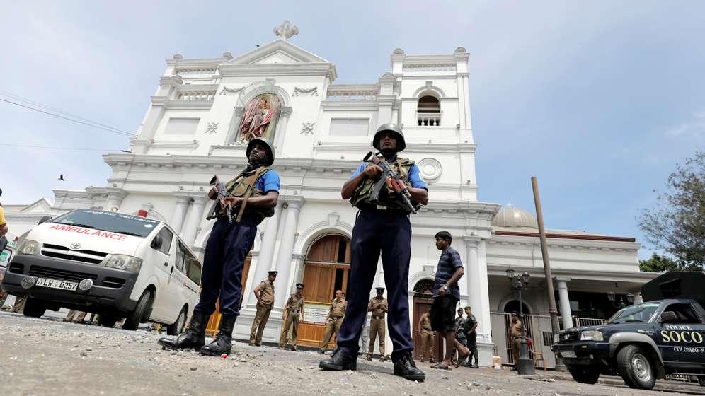 Am Ostersonntag haben Explosionen innerhalb einer halben Stunde mehrere Kirchen und Hotels in Sri Lanka erschüttert. | Bild:Reuters
