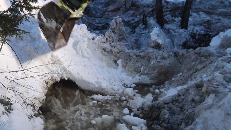 Hochwasser in Obermaiselstein