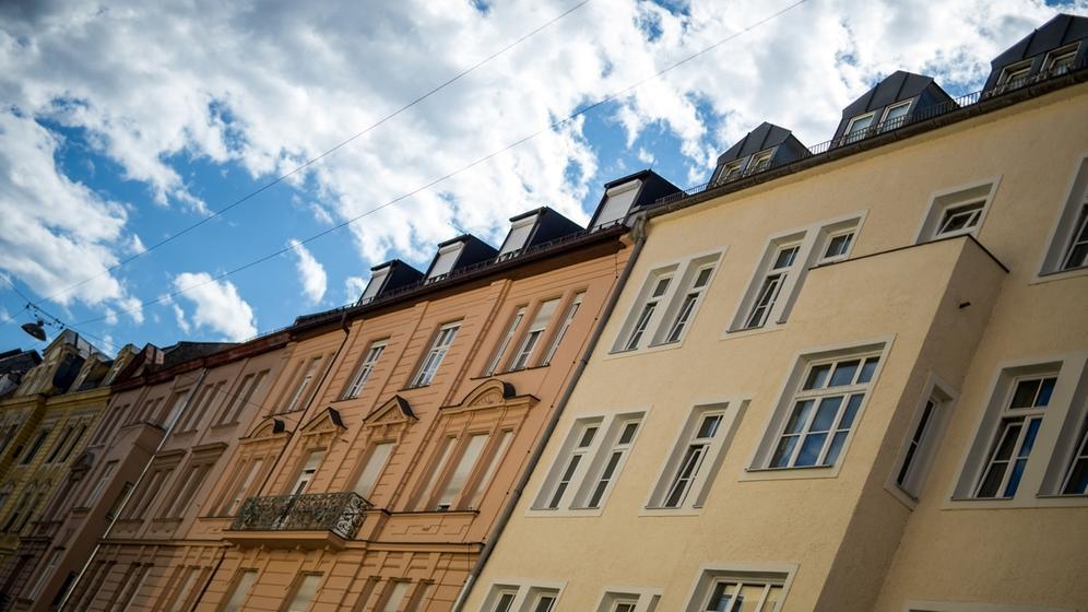 Wohnungen in München   Bild:dpa-Bildfunk/Matthias Balk