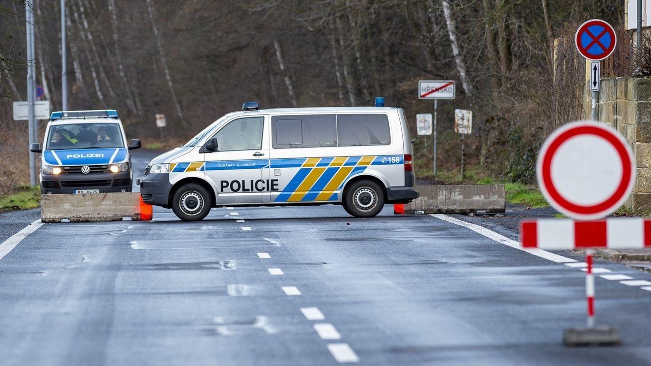 Coronavirus - Grenze zu Tschechien geschlossen