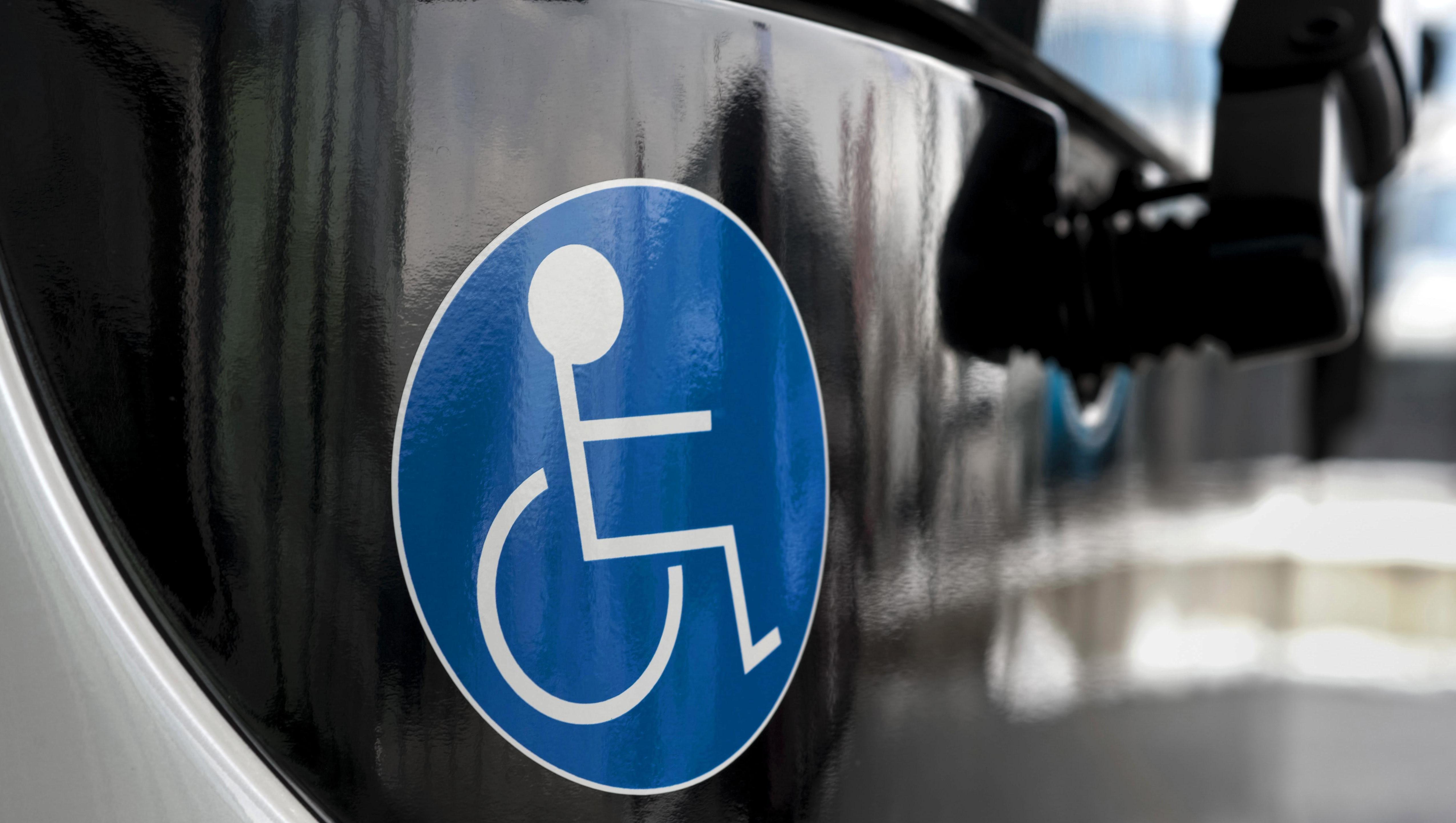 Behinderte, Symbolbild