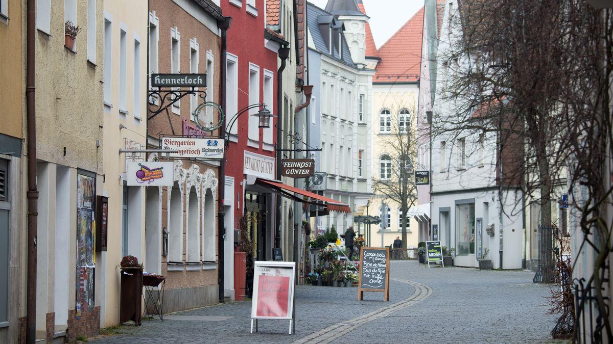 Innenstadt von Weiden