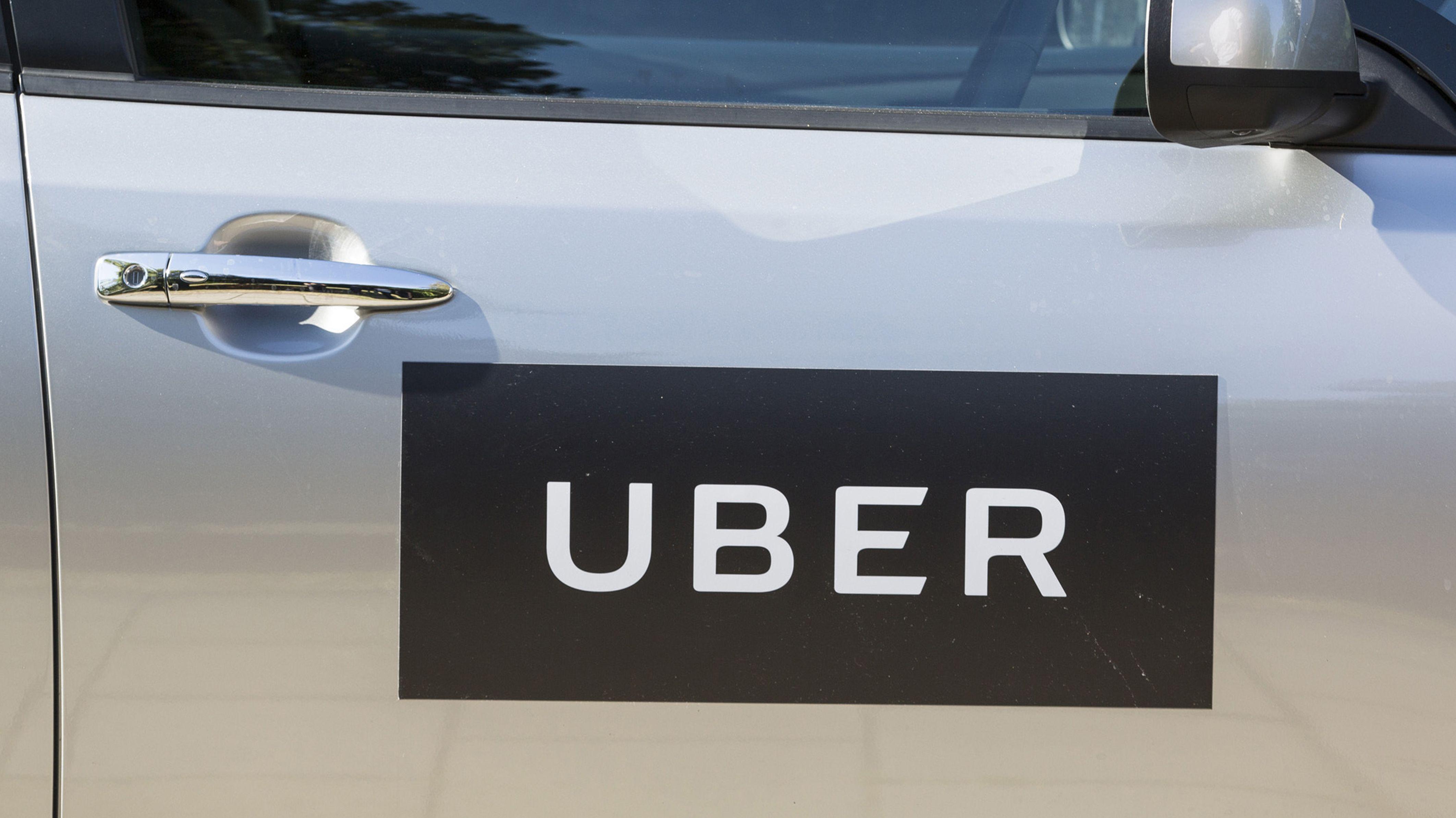 Logo der Firma Uber