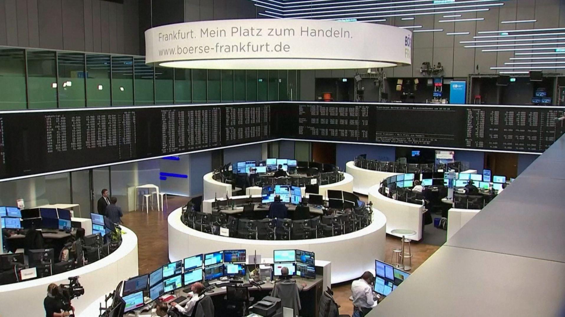 Die Handelsplätze an der Frankfurter Börse.