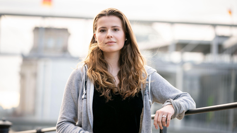 Die Klimaschutzaktivistin Luisa Neubauer von Fridays for Future