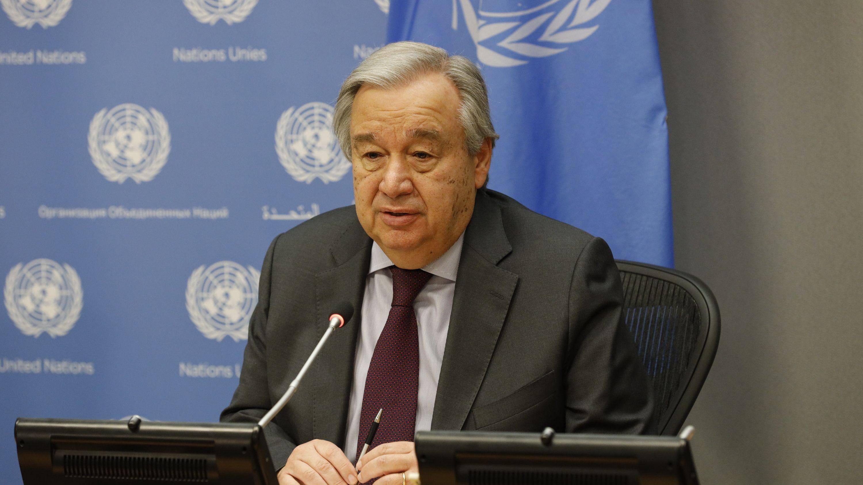 UN-Generalsekretär António Gutteres
