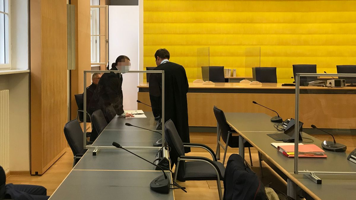 Bilder aus dem Gerichtssaal im Maria Baumer Prozess