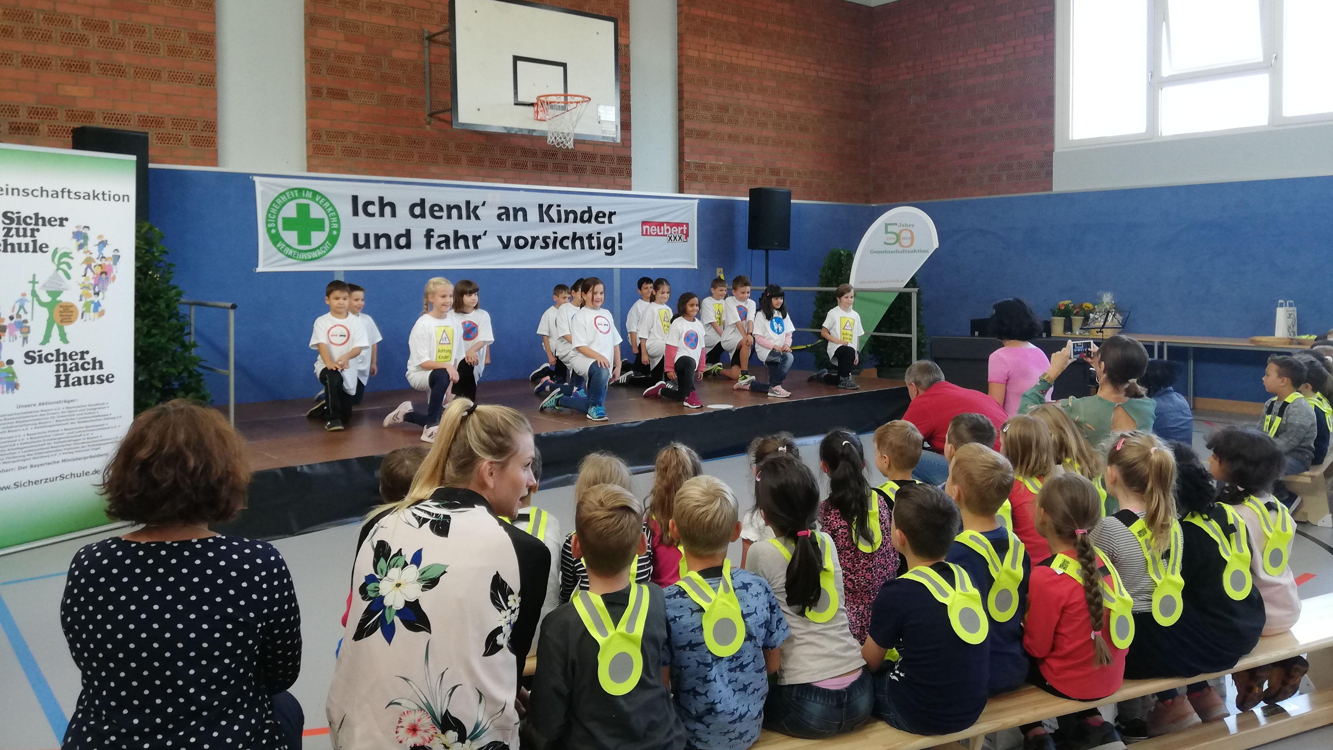 """""""Sicher zur Schule – Sicher nach Hause"""" in Würzburg"""