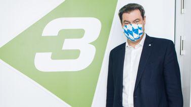 Ministerpräsident Markus Söder | Bayern 3 / Lisa Hinder
