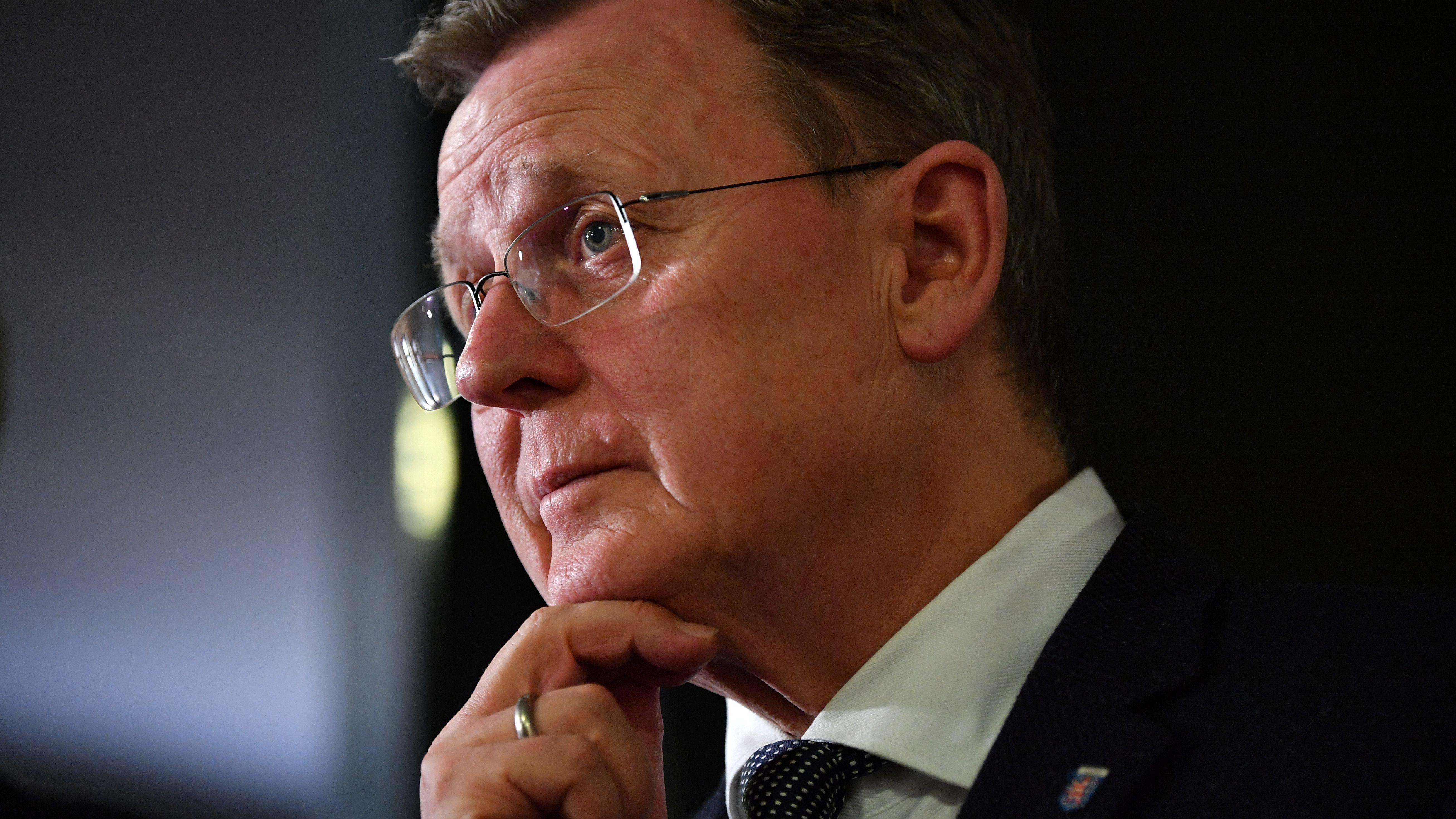 Bodo Ramelow (die Linke), der ehemalige Ministerpräsident von Thüringen.
