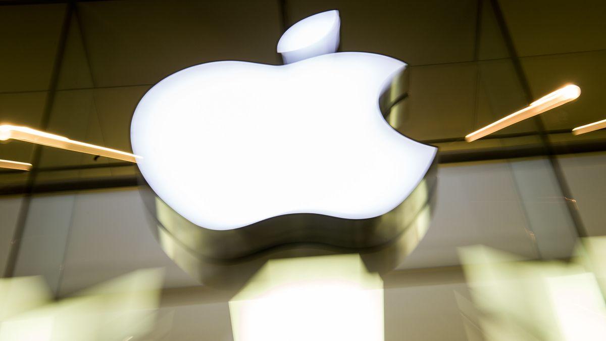 Firmenlogo von Apple.