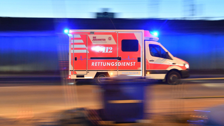 In Bamberg hat eine Frau auf ihren Lebensgefährten eingestochen