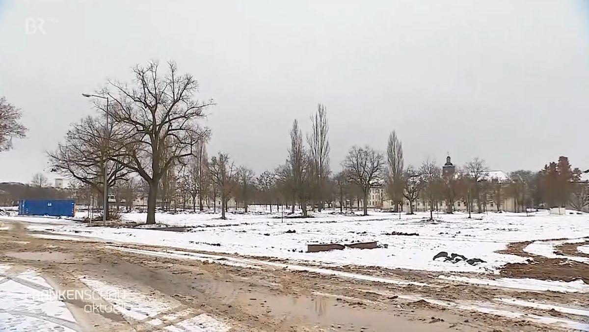 Auf diesem Gelände wird die Landesgartenschau 2026 in Schweinfurt stattfinden.