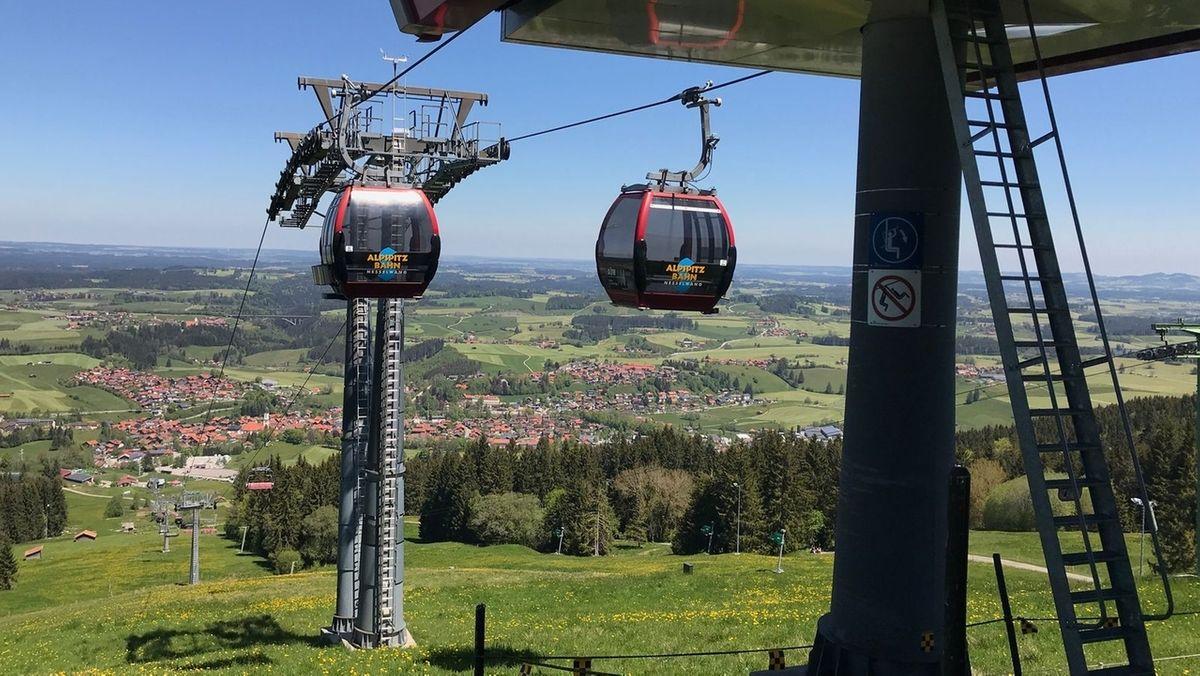 Die Alpspitzbahn in Nesselwang
