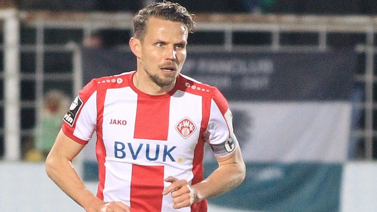 Kickers-Kapitän Sebastian Schuppan.