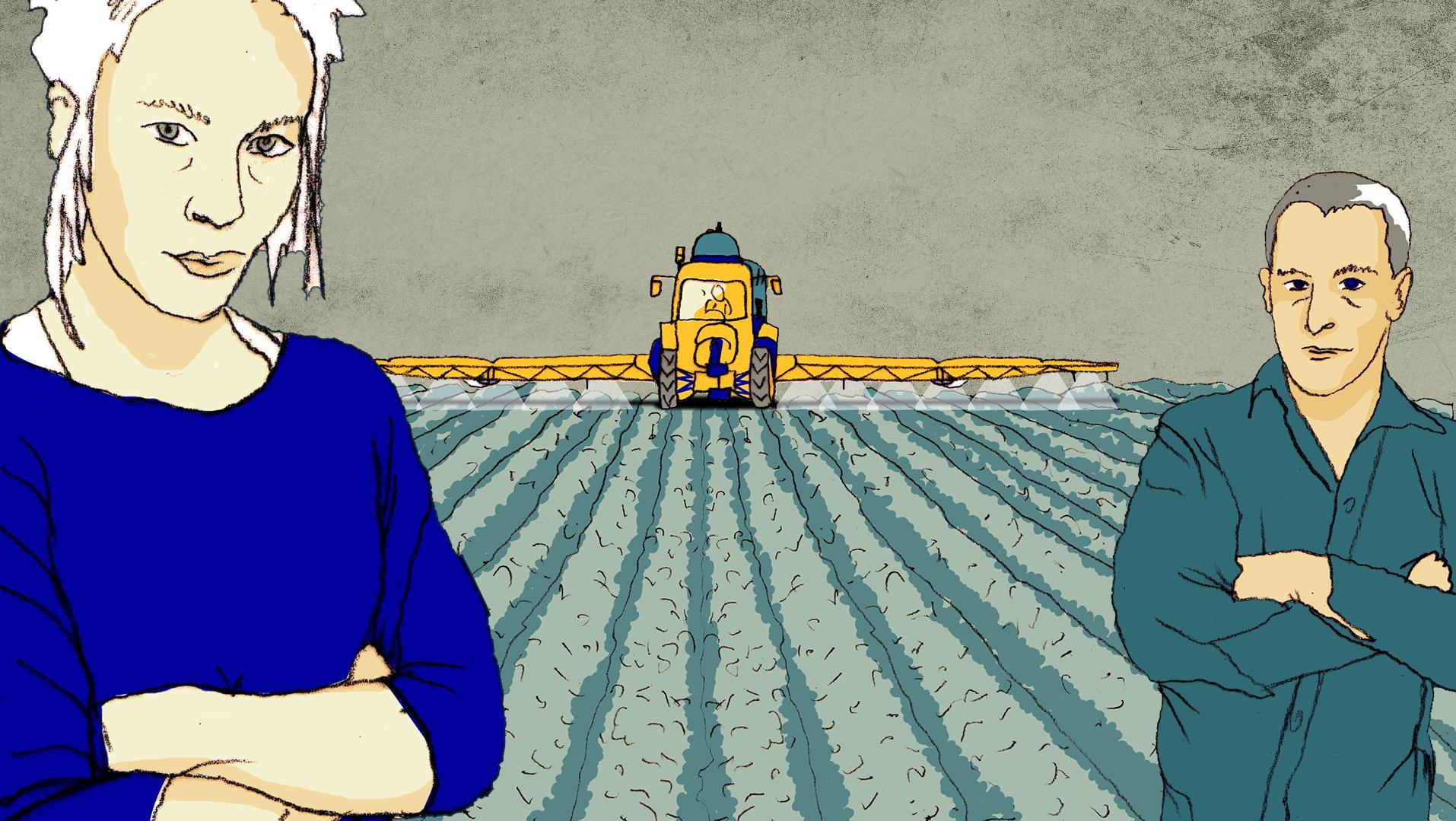 Symbolbild zum Pestizid-Einsatz