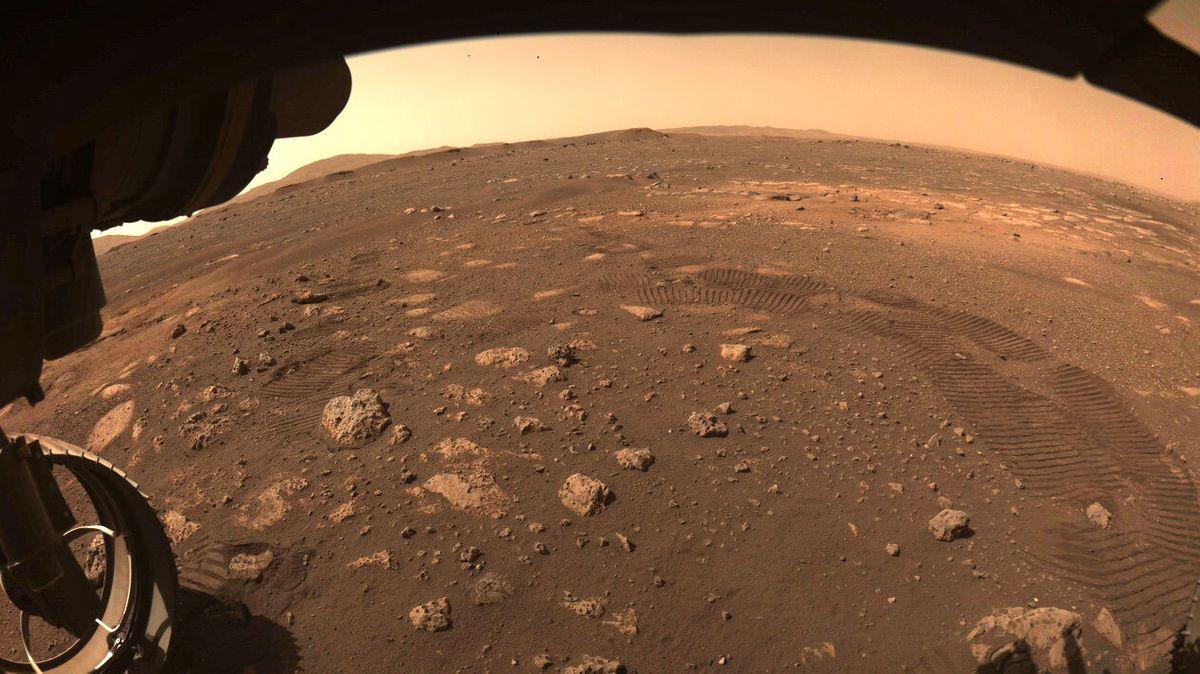 Foto von der Mars-Oberfläche