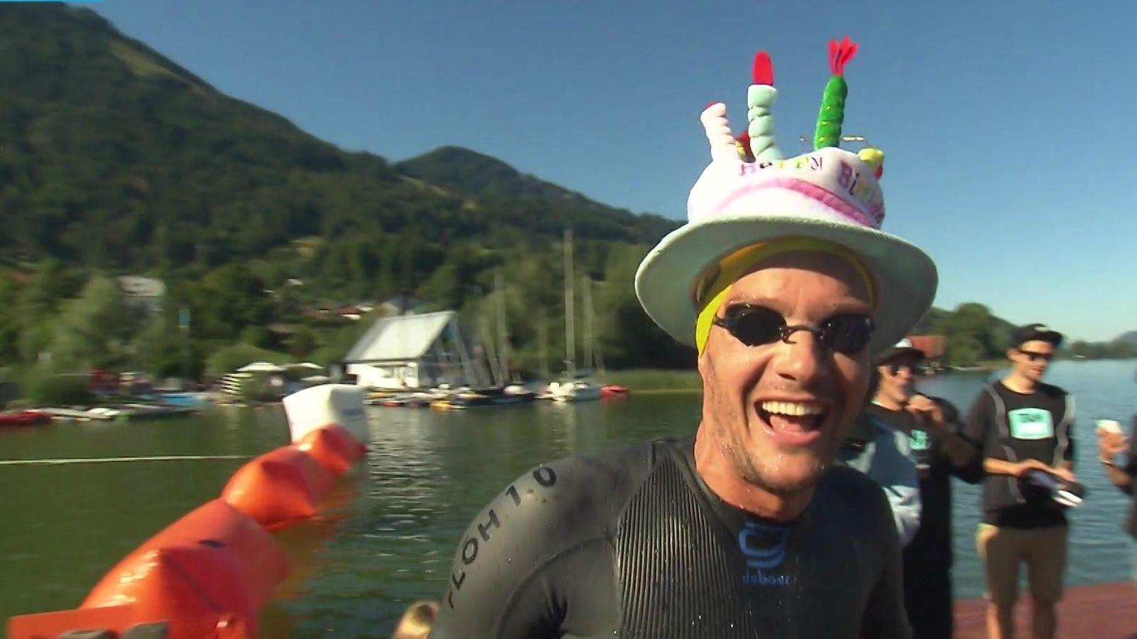 Jan Frodeno gewinnt an seinem 38. Geburtstag den Allgäu Triathlon