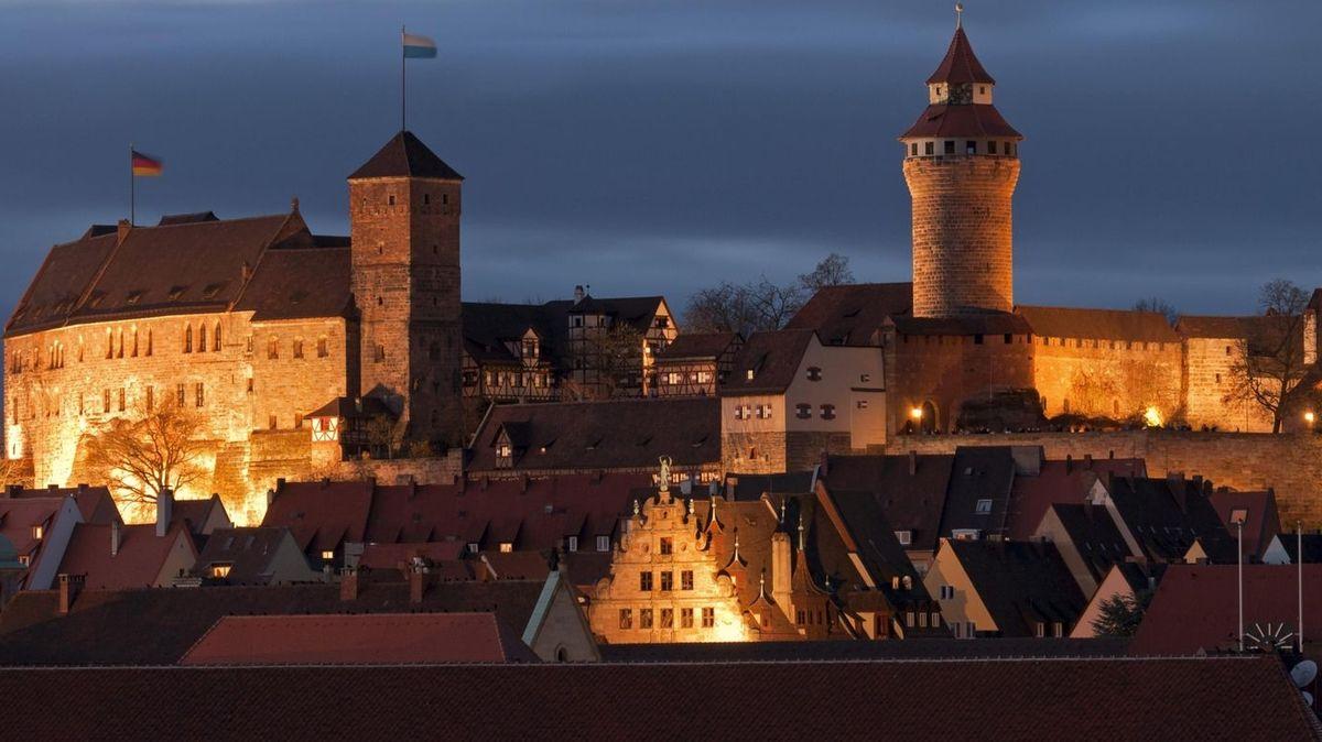 Die Nürnberger Kaiserburg