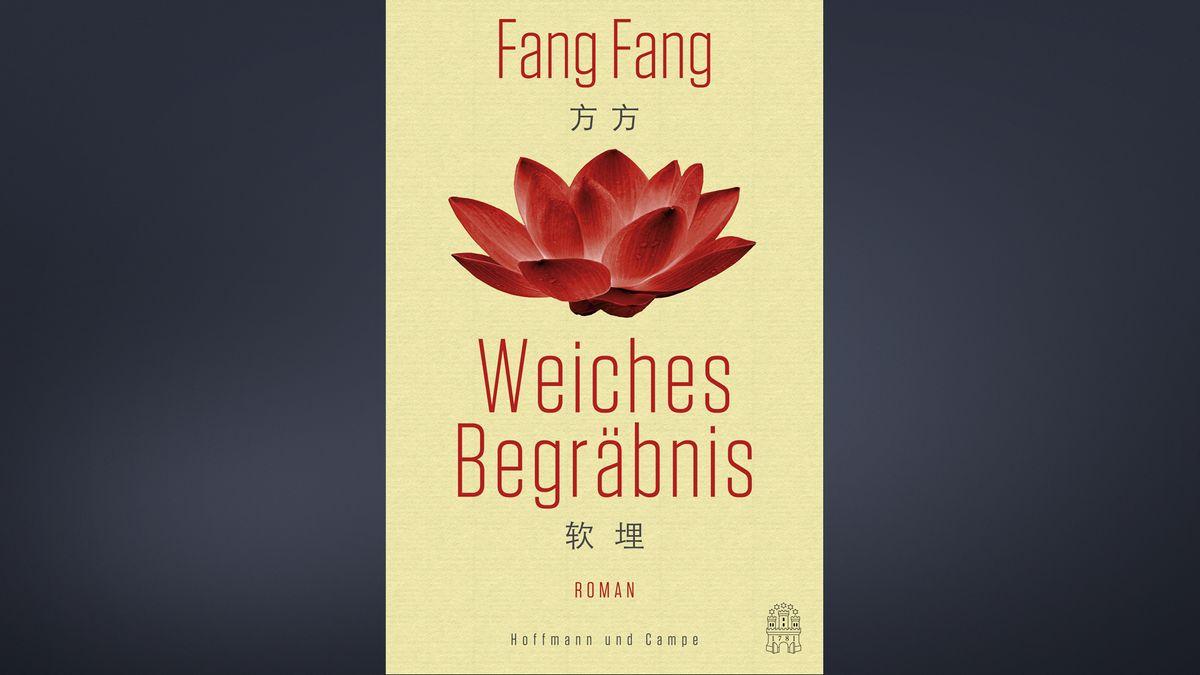 "Cover des Romans ""Weiches Begräbnis"" von Fang Fang."