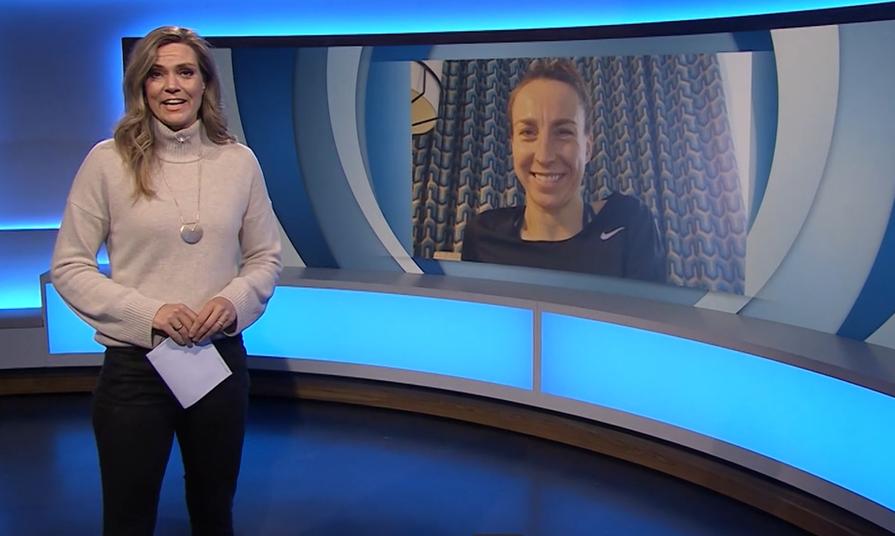 Anne Haug in Blickpunkt Sport