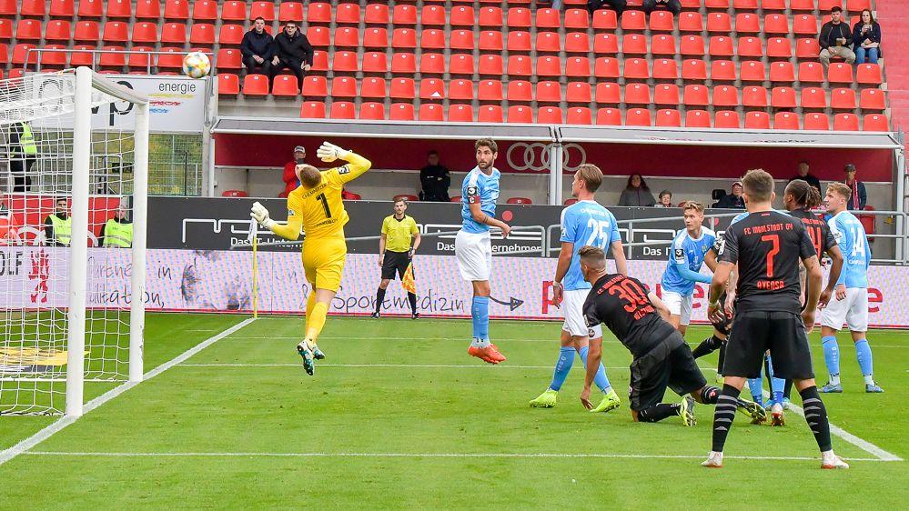 Spielszene FC Ingolstadt - Chemnitzer FC