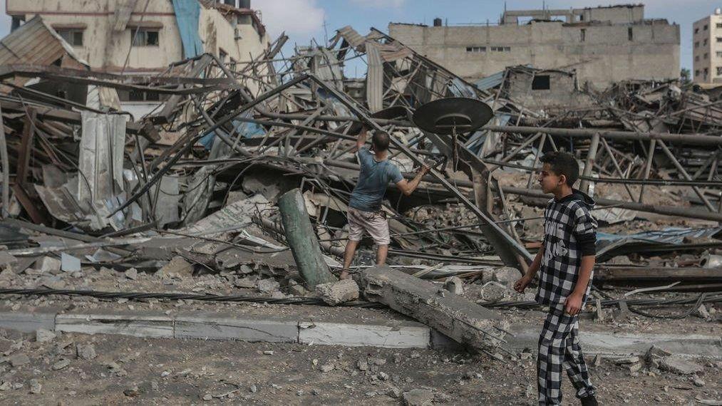 Zerstörung nach israelischem Angriff in Gaza