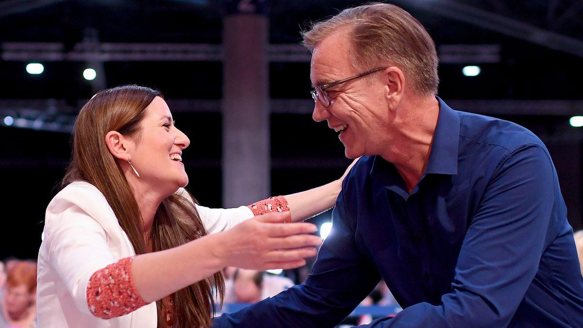 Janine Wissler und Dietmar Bartsch (Archivbild)