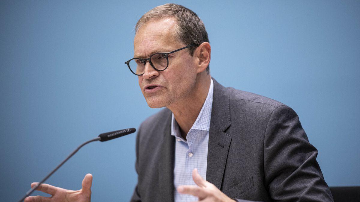 Michael Müller (SPD), Regierender Bürgermeister von Berlin,