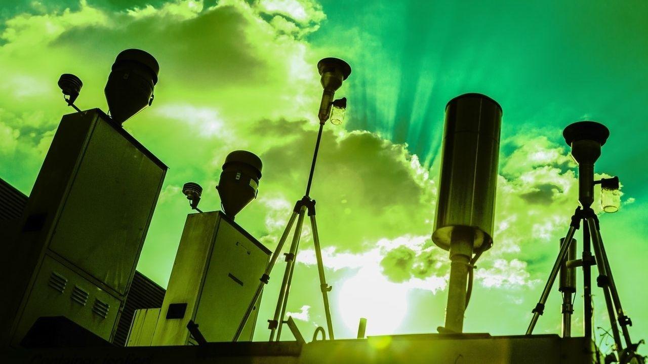 Symbolbild Feinstaub-Messstation